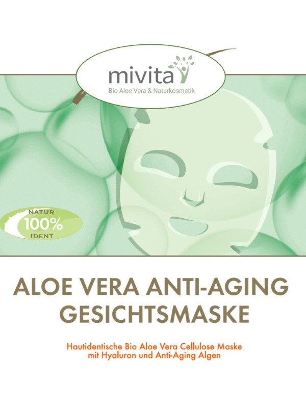 3 x Gold Anti Aging Maske