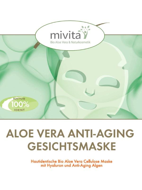 Gold Anti Aging Maske