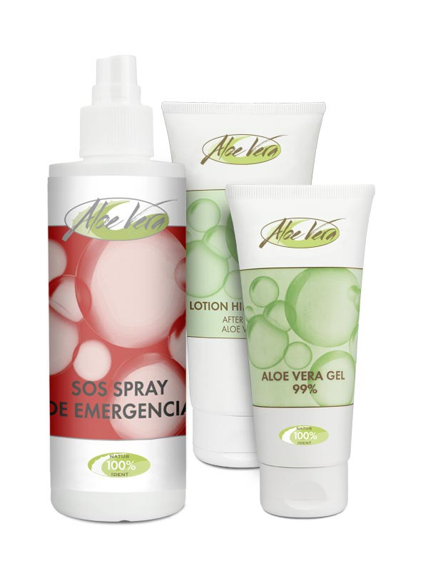 Aloe Vera Holiday Set
